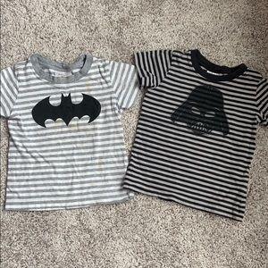 Bundle of 2 T-shirts (Batman, darthvader)